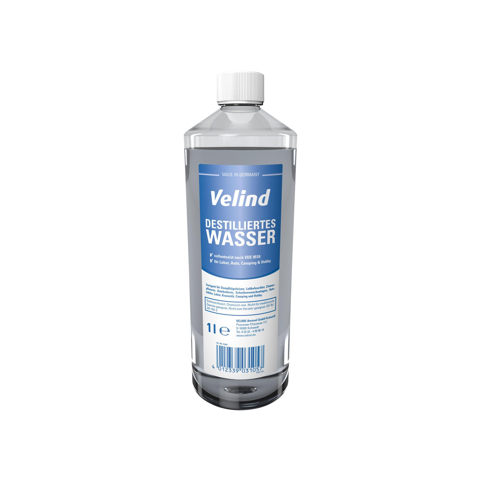 Destilliertes Wasser, 1 l