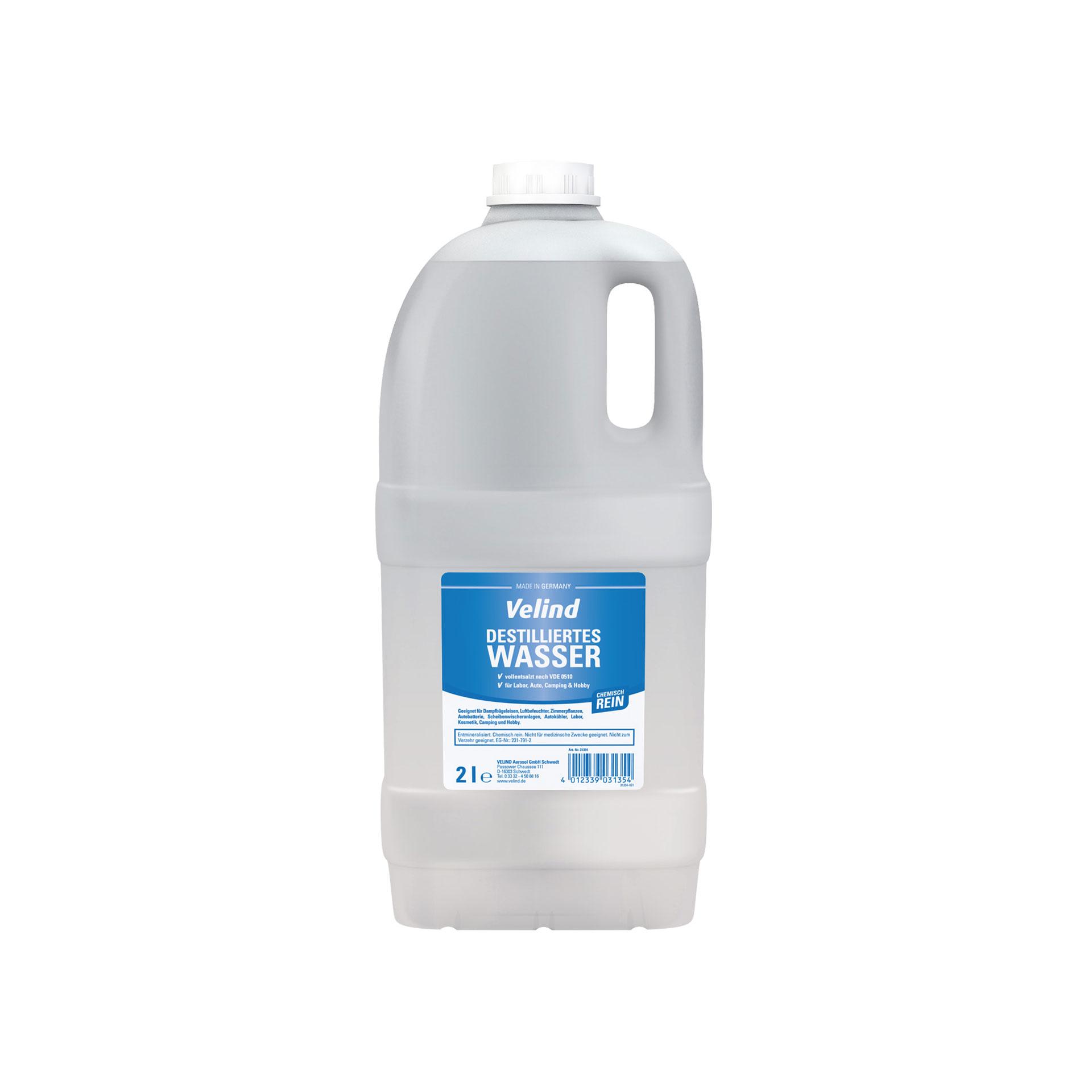 Destilliertes Wasser, 2 l